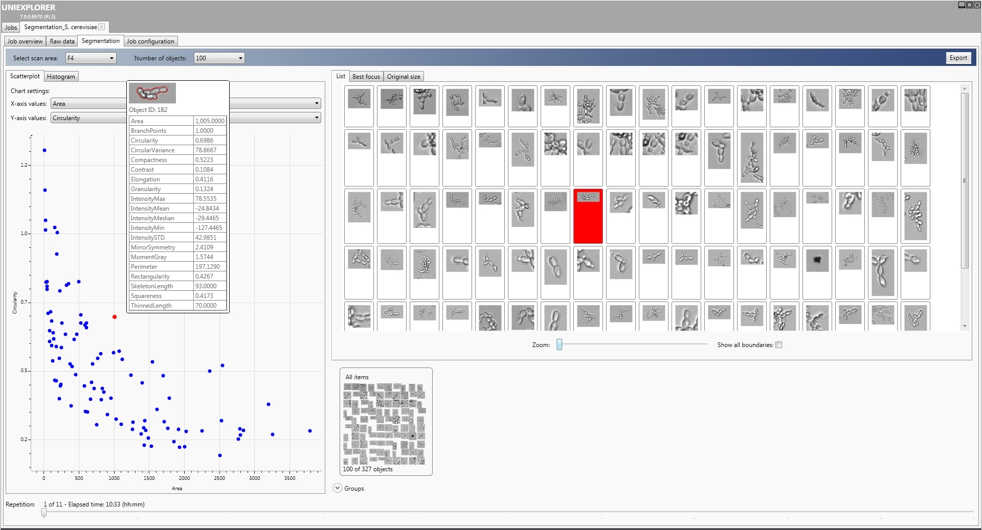 Microbial morphology biosense solutions using uniexplorer ocelloscopes front end software you can quickly perform object based image analysis to identify and quantify up to twenty different ccuart Images